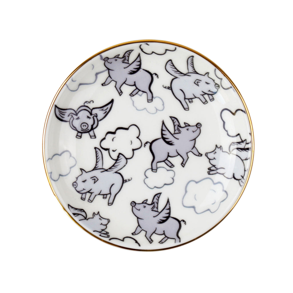 Flying Pigs Mini Dish