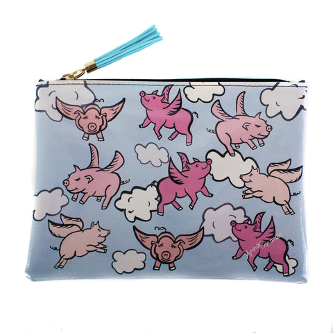 Flying Pigs Beach Pochette