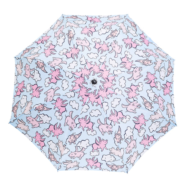 Flying Pigs Umbrella - Blue