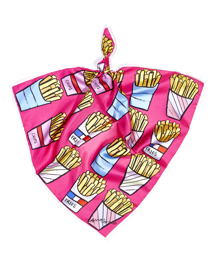 Fries Scarf