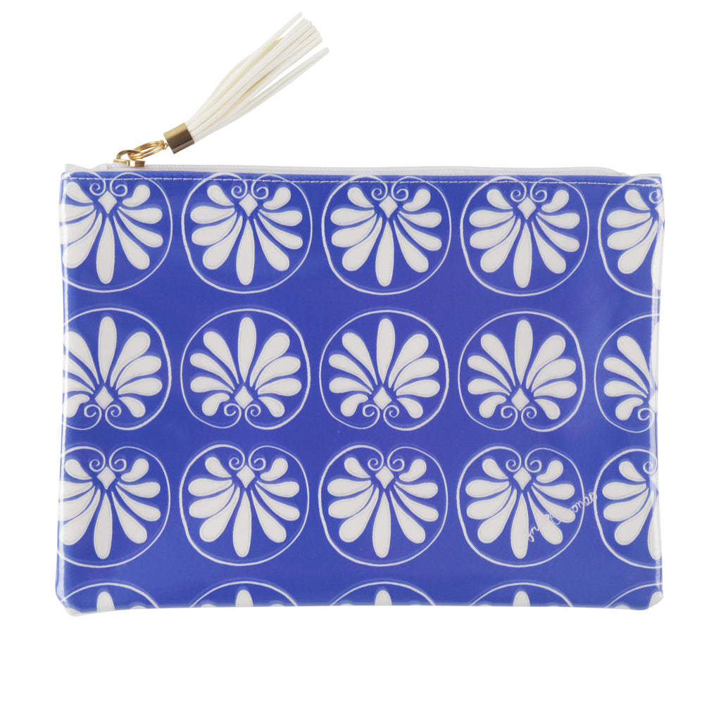 Grecian Travel Clutch