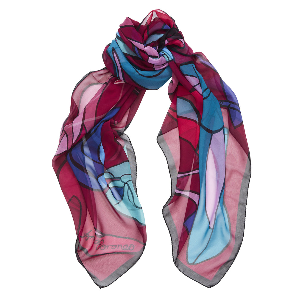 High Heels Scarf - Rouge