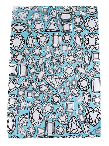 Diamonds Tea Towel