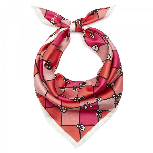 Love Locks Scarf - Pink