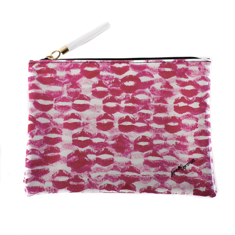 Kisses Travel Clutch