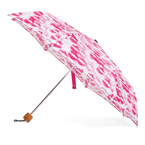Kisses Umbrella - Pink