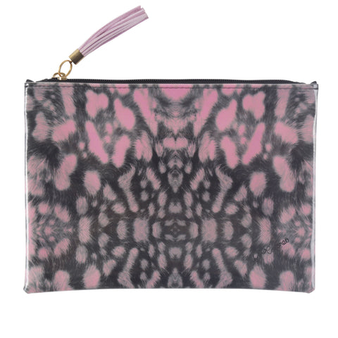 Leopard Travel Clutch