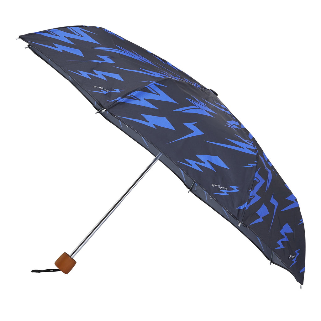 Lightning Bolts Umbrella - Blue
