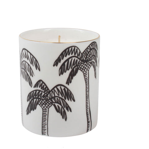 Palm Trees Candle