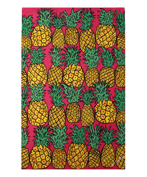 Pineapples Tea Towel