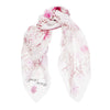 Pressed Flowers Scarf - Rose