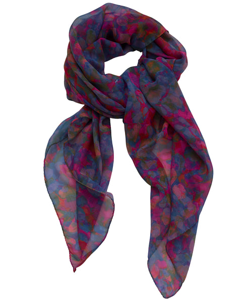 Shimmer Scarf - Sunset