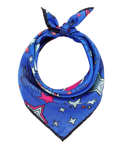 Shooting Stars Scarf - Blue