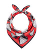 Strawberries Scarf - Red