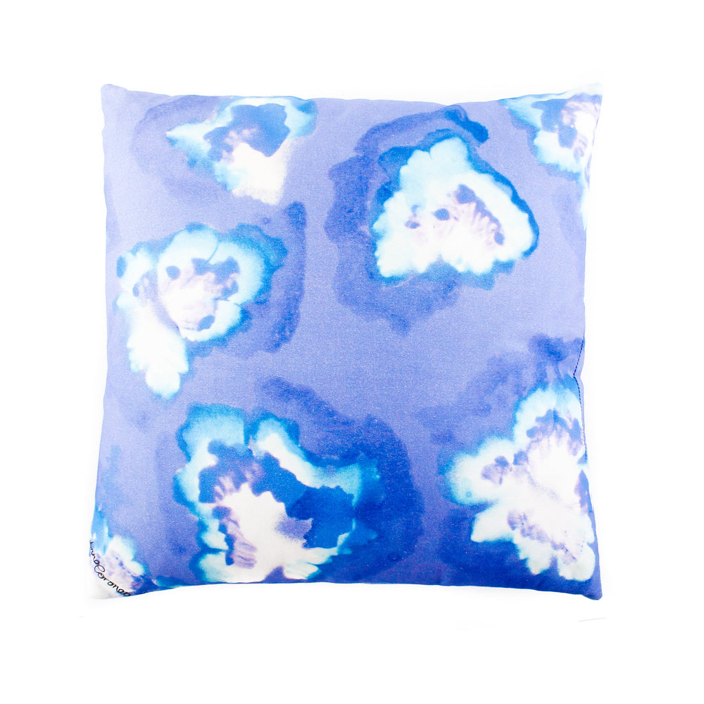Strawberry Leaf Cushion - Small