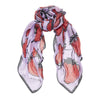 Strawberries Scarf - Lilac