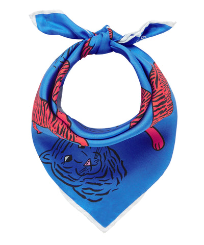 Tigers Scarf - Blue