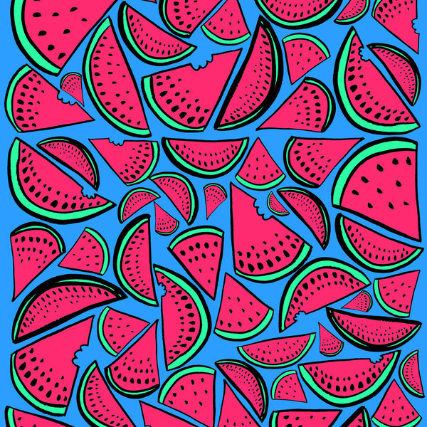 Watermelons Beach Towel - Pink