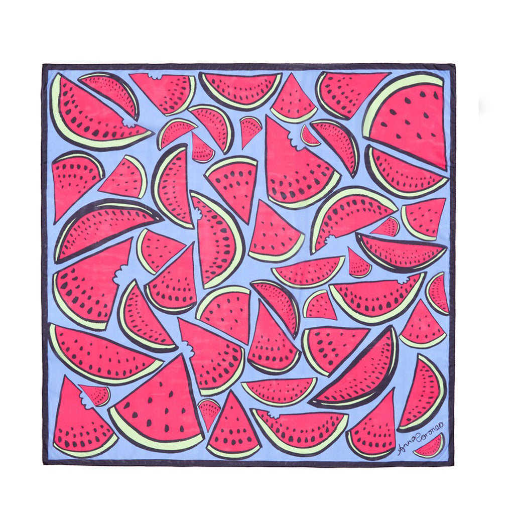 Watermelons Scarf - Pink