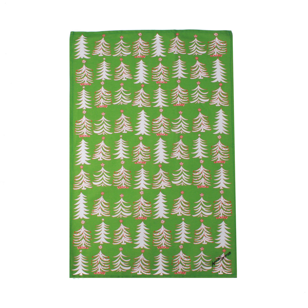 Christmas Tree 2 Tea Towel