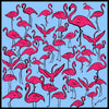 Flamingos Mini Scarf