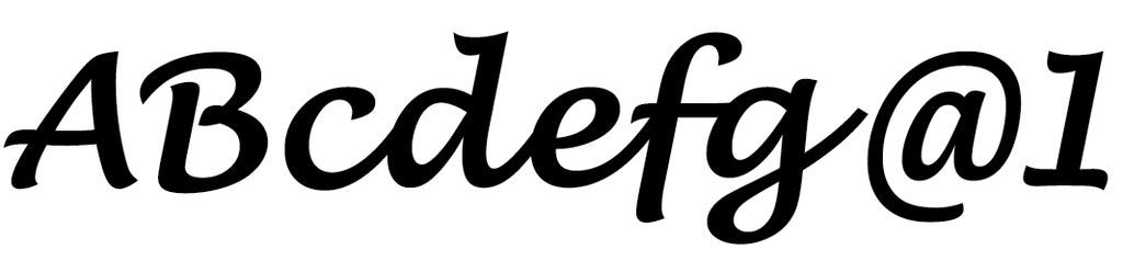 Lucida Handwriting ExtraDark