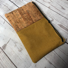 Reclaimed Gold Bank Bag Clutch
