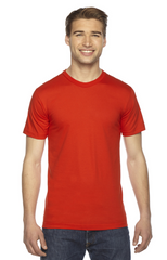 Unisex Fine Jersey USA Made T-Shirt|Color