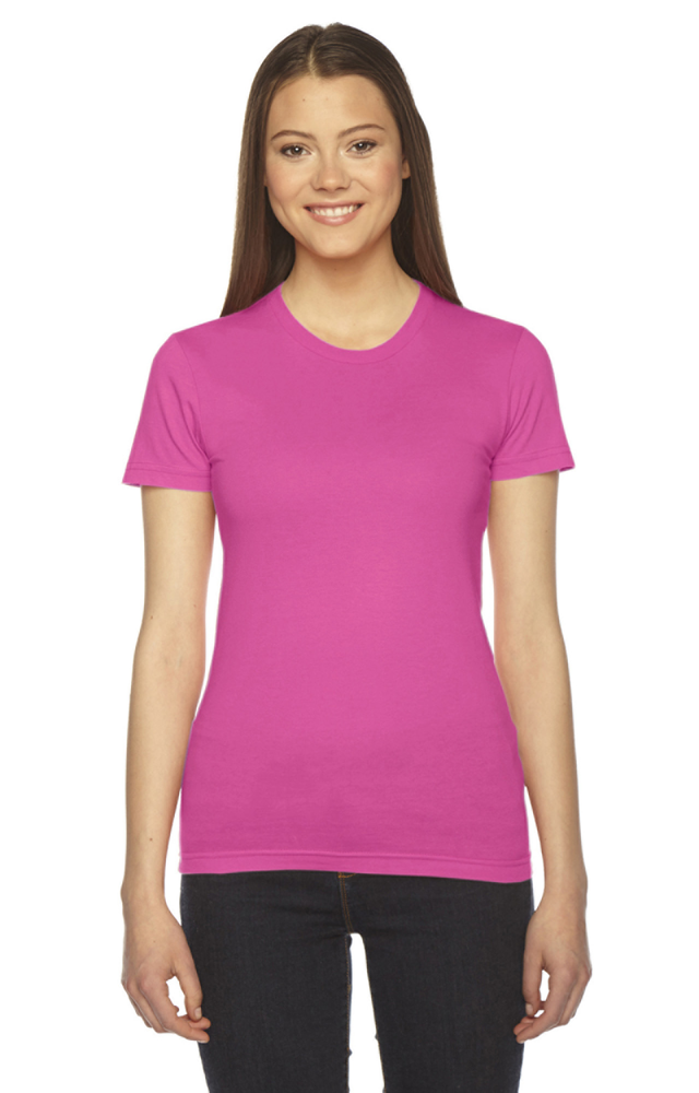 ladies'-fine jersey short-sleeve t‑shirt
