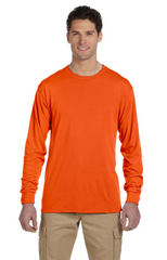 Adult Unisex 5.3 oz., DRI-POWER® SPORT Long‑Sleeve T‑Shirt|Color