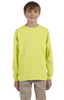 youth-unisex 5.6 oz., dri-power® active long‑sleeve t‑shirt