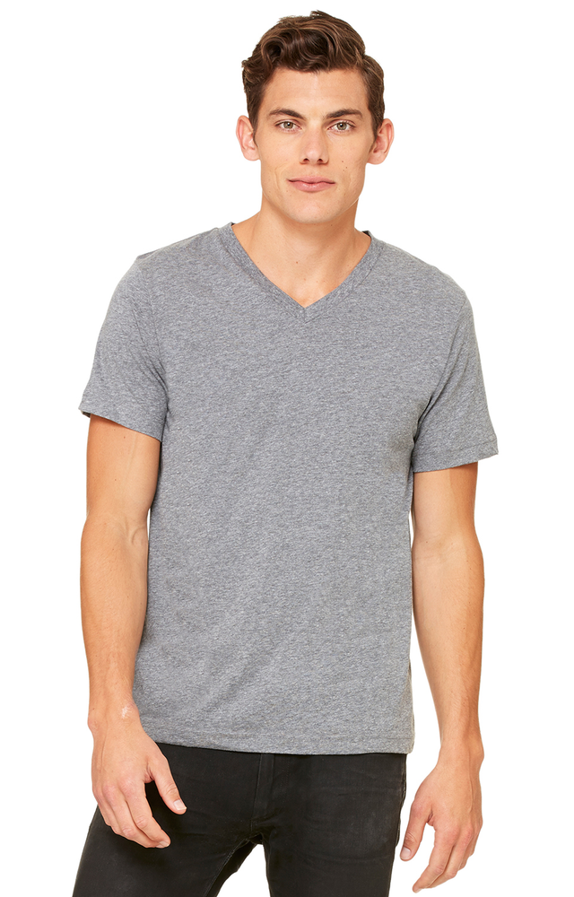 unisex-jersey short-sleeve v‑neck t‑shirt