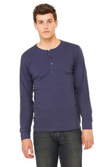 Men's Jersey Long-Sleeve Henley|Color