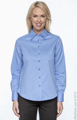 Ladies' Easy Blend™ Long-Sleeve Twill Shirt with Stain‑Release|Color
