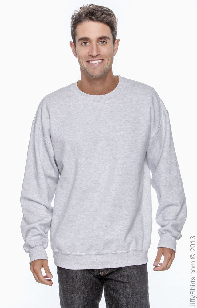Adult Unisex DryBlend® 9.0 oz., 50/50 Fleece Crew|Color