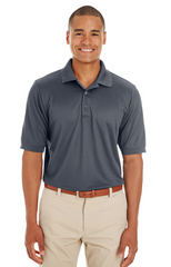 Men's Pilot Textured Ottoman Polo|Color