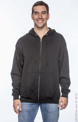 Adult Unisex 8 oz. NuBlend® Fleece Full-Zip Hood|Color
