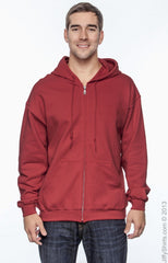 Adult Unisex Heavy Blend™   8 oz., 50/50 Full-Zip Hood|Color