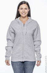 Adult Unisex DryBlend®  9.0 oz., 50/50 Full-Zip Hood|Color