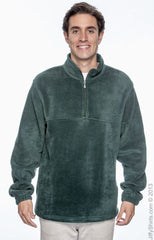 Adult Unisex 8 oz. Quarter-Zip Fleece Pullover|Color