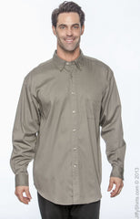 Men's Long Sleeve 32 Singles Twill|Color
