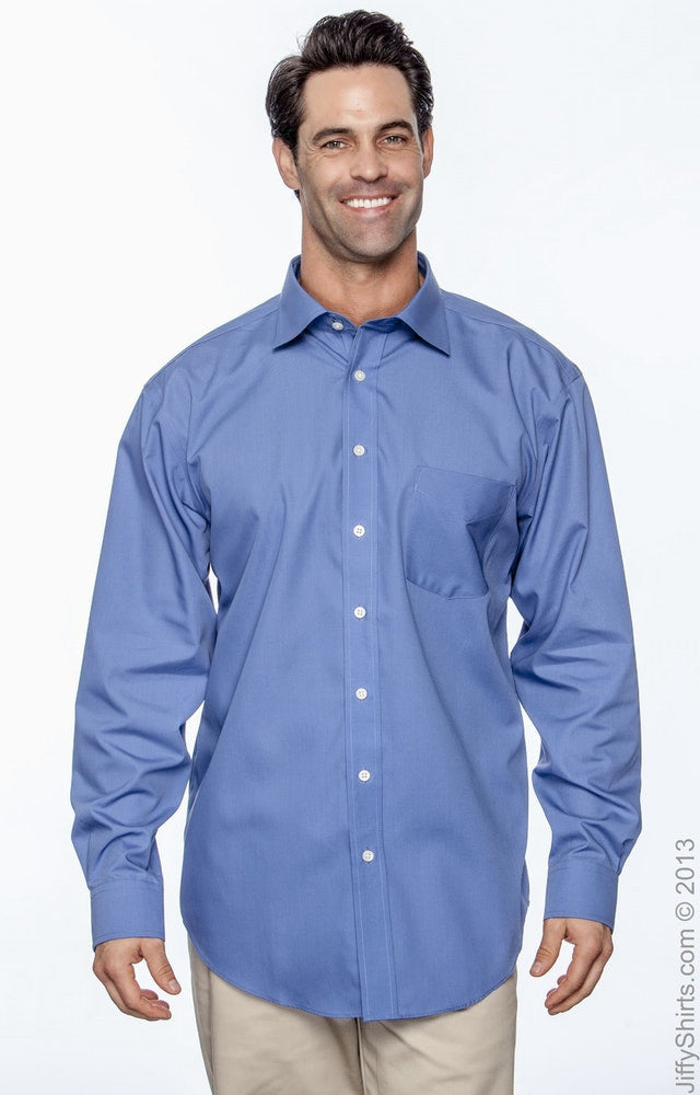 Men's Executive Performance Broadcloth with Spread Collar|Color