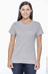 Ladies' 4.5 oz., 100% Ringspun Cotton nano-T® T‑Shirt|Color