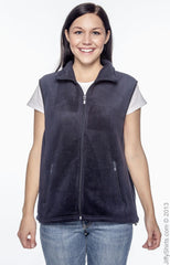 Adult Unisex 8 oz. Fleece Vest|Color