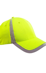 Unisex Reflective Accent Safety Cap|Color