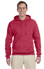 Adult Unisex 8 oz. NuBlend® Fleece Pullover Hood|Color