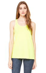 Ladies' Flowy Racerback Tank|Color