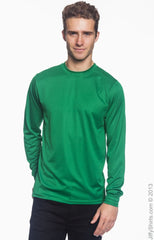 Adult Unisex Wicking Long-Sleeve T‑Shirt|Color