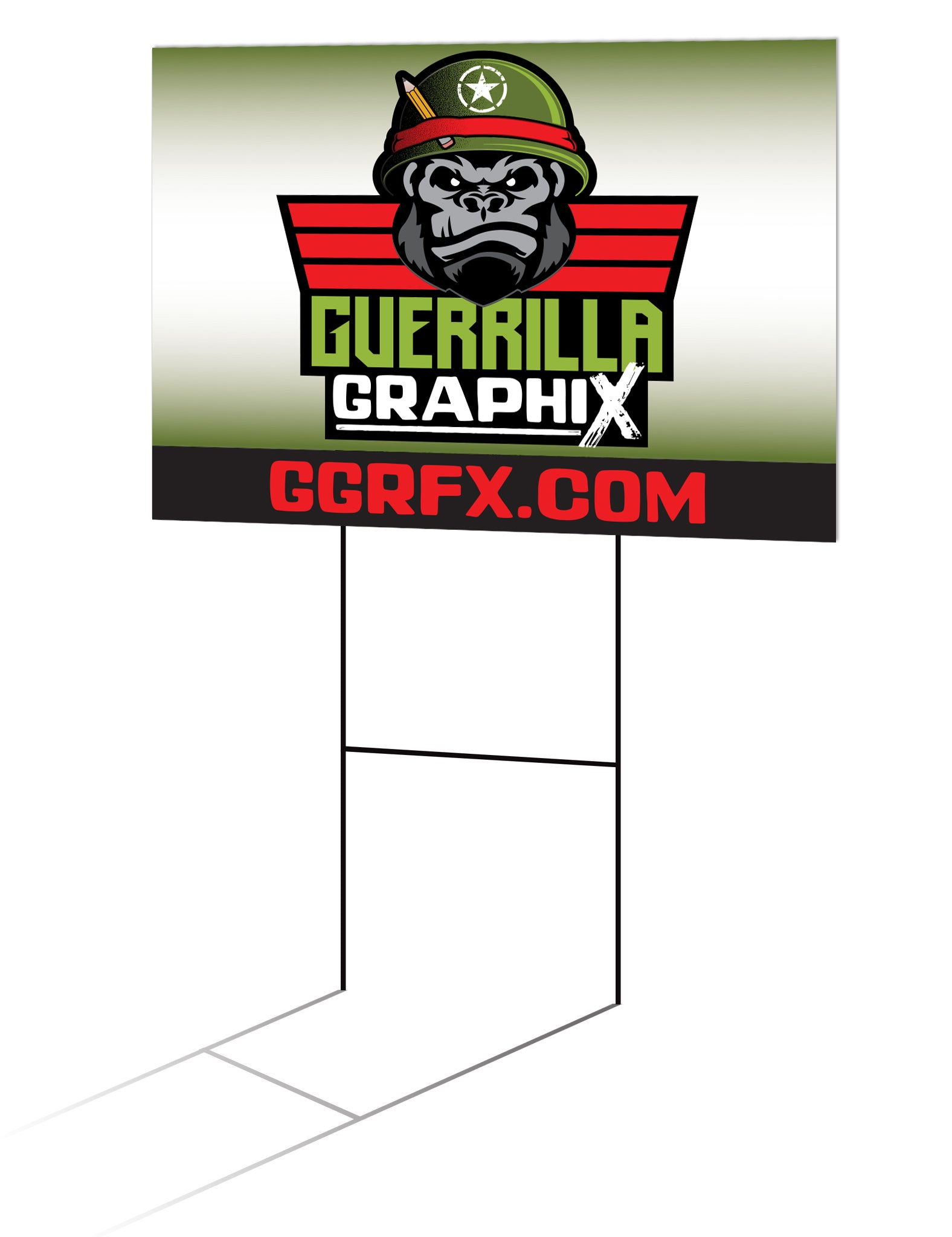 Yard Sign Corrugated Platic (Corex)