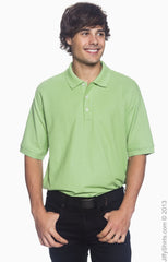 Men's Pima Pique Short-Sleeve Polo|Color